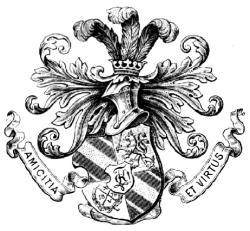 Altes Wappen der Verbindung Karlsruhensia zu Heidelberg!